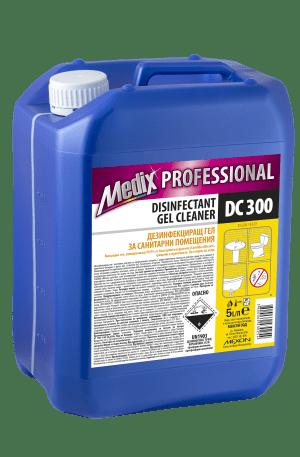 Дезинфекциращ гел за санитарни помещения Medix, 5 л - DC 300