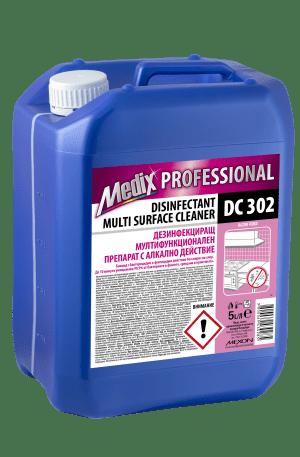 Дезинфекциращ препарат с алкално действие Medix, 5 л - DC 302